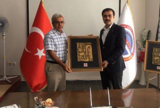 KTO Başkanı Sn. Selçuk Öztürk ve TOBB Daire Başkanı Sn.Hasan Erbay'ın Odamıza Ziyareti