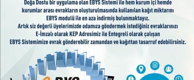 EBYS Sistemine Geçiş…