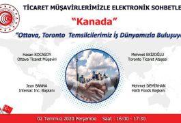 """Ticaret Müşavirlikleri İle Elektronik Sohbetler """"Kanada"""""""