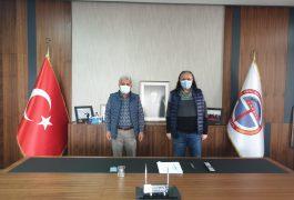 Ereğli Eğitim Fakültesi Dekanı Sayın Prof.Dr.Bülent Dilmaç'tan Odamıza Ziyaret