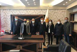 AkParti İlçe Başkanı Sayın Zübeyir Dursun ve Yönetim Kuruluna Ziyaret