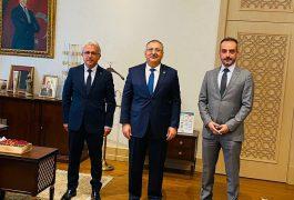Oda Başkanımız Sn.Mahmut Özkoç'tan Cumhurbaşkanlığı İdari İşler Başkanı Sn.Metin Kıratlı'ya Ziyaret