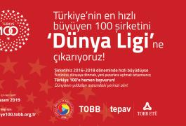TOBB TÜRKİYE 100 YARIŞMASI DÜZENLENECEK