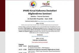 IPARD Kırsal Kalkınma Destekleri Bilgilendirme Semineri
