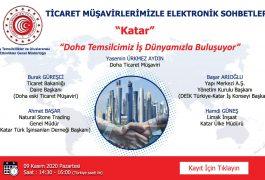 """Ticaret Müşavirlikleri Elektronik Sohbetler """"Katar"""""""