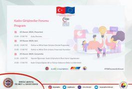 Kadın Girişimciler Forum Programı